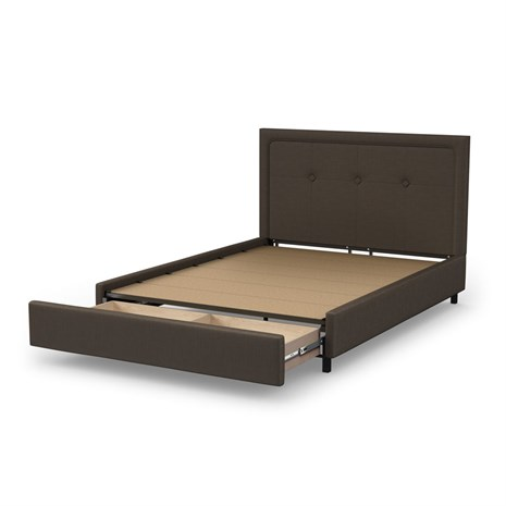 Amisco Storage bed drawers open